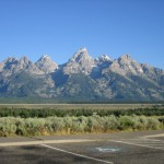Tetons in Jackson Hole