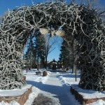 Jackson Hole Town Square Antler Arch